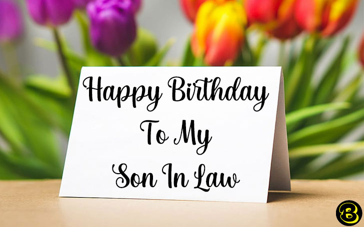 Happy Birthday Son-in-Law Images and Pictures | Birthday Quotes for Son in Law